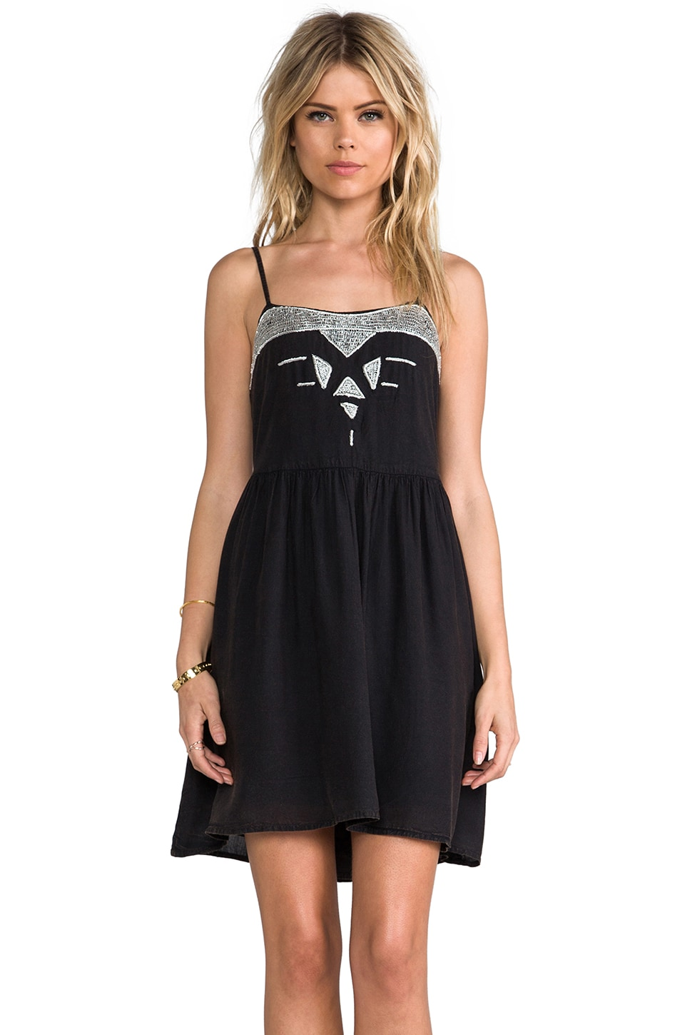 Somedays Lovin Star Map Dress in Black