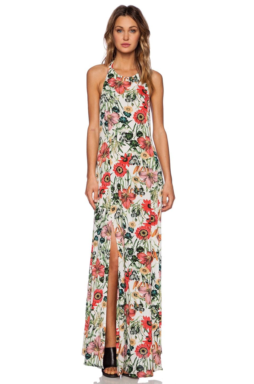 Somedays Lovin Bella Floral Split Maxi Dress in Multi