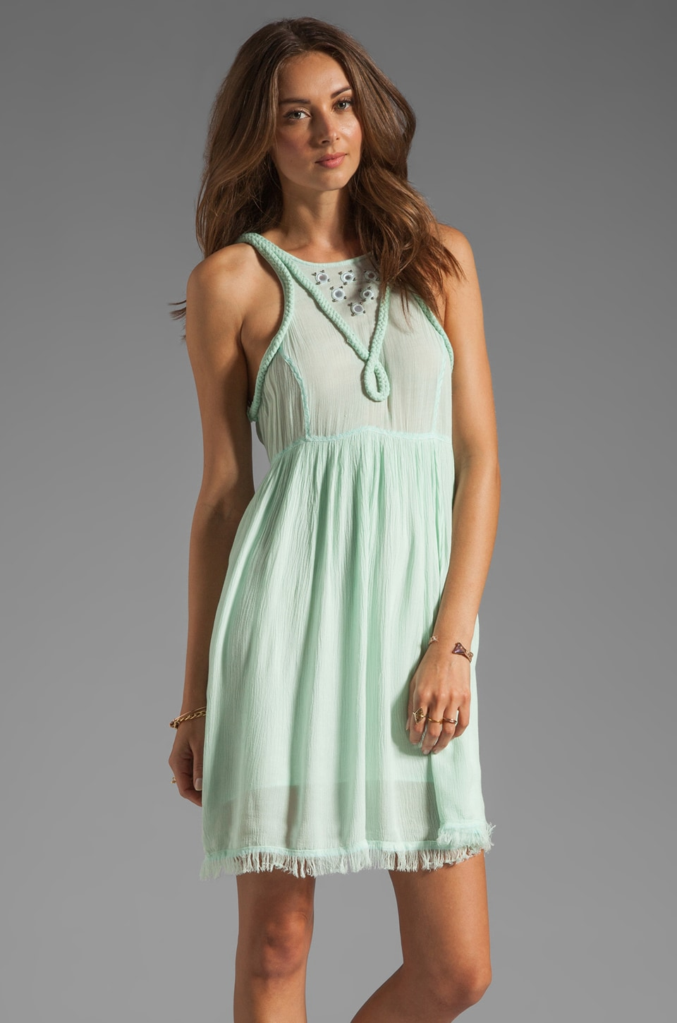 Somedays Lovin Dreamlover Dress in Mint