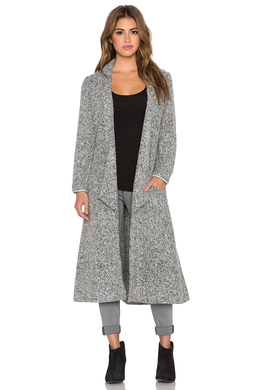 Somedays Lovin Shrubs Wool Duster Coat in Grey Marle