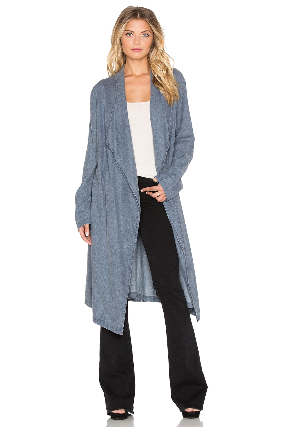 Somedays Lovin Undercover Duster Coat in Ink