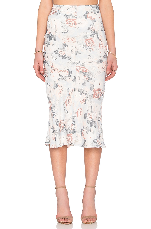 Somedays Lovin Sundown Floral Midi Skirt in Multi