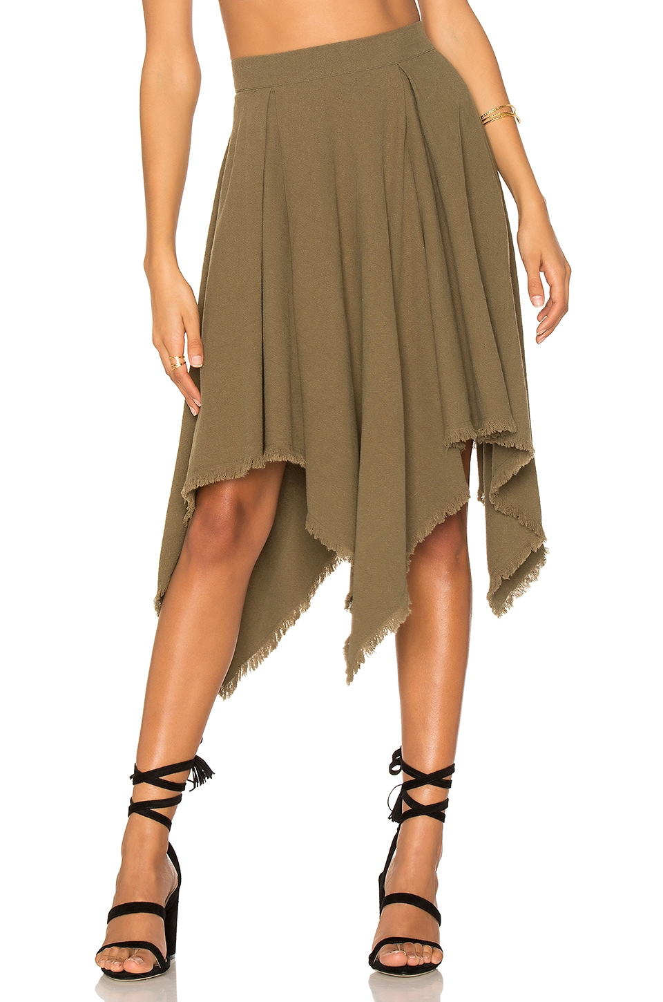Somedays Lovin Little Lake Skirt in Khaki