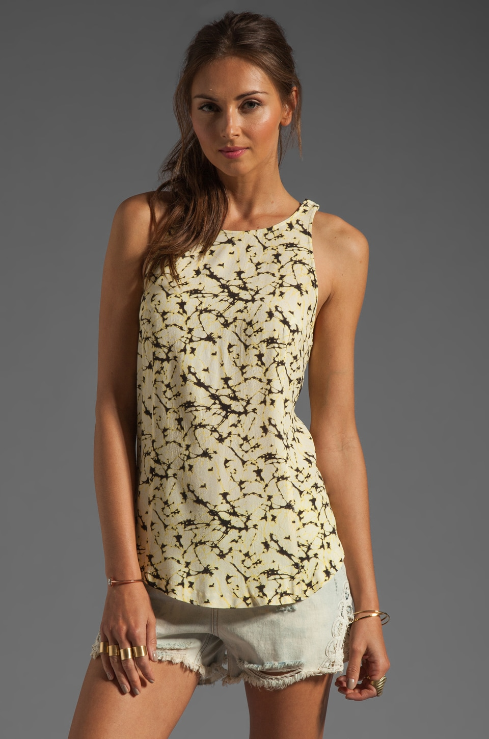 Somedays Lovin Wiseman's Cove Print Tank in Multi