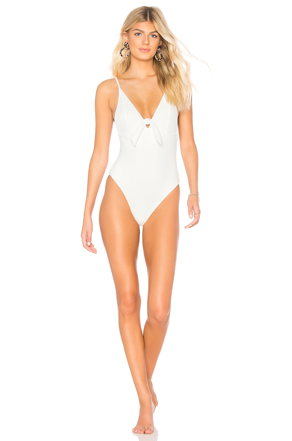 Somedays Lovin Ripples One Piece in Off White
