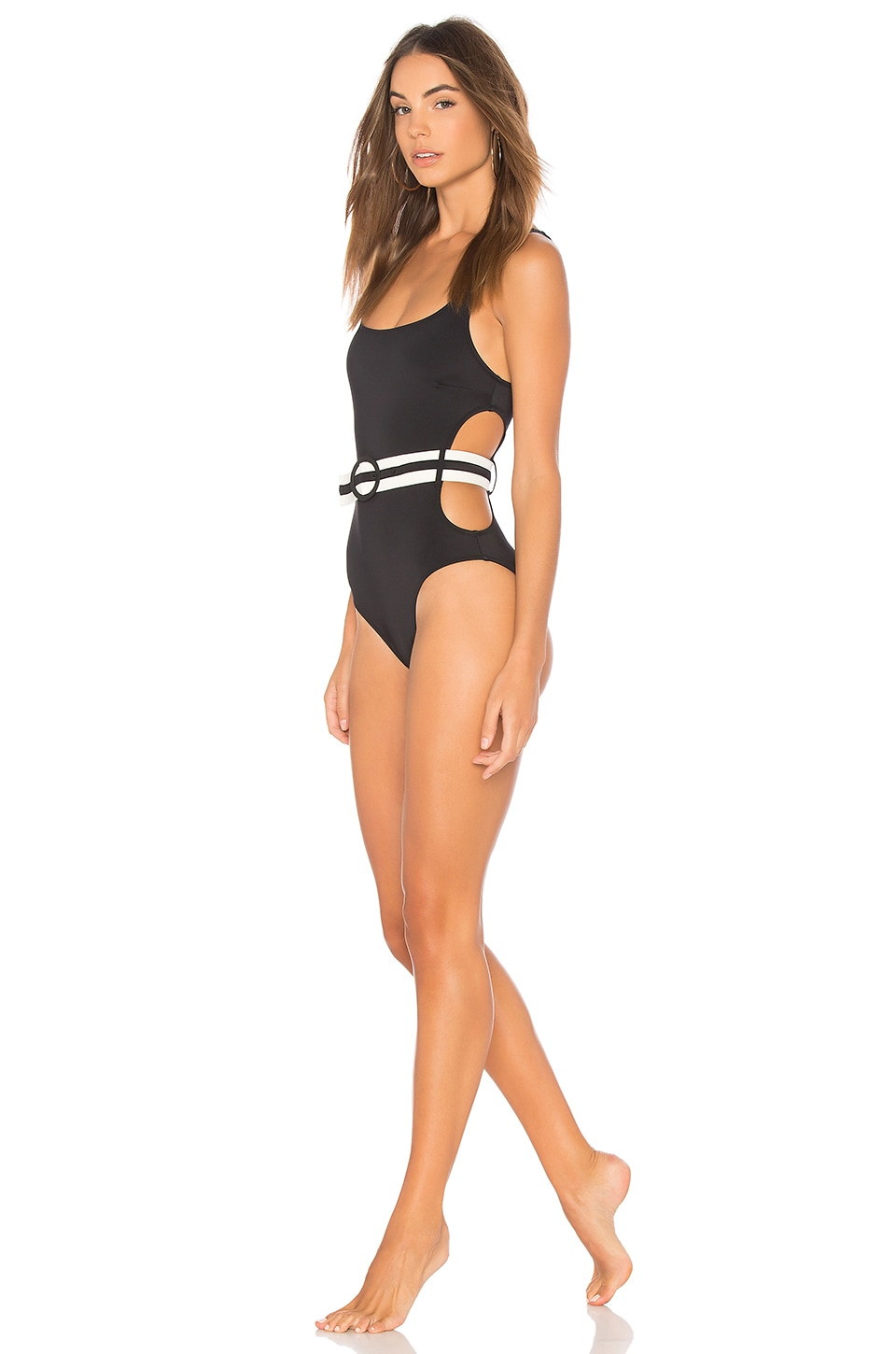 Solid & Striped The Joan One Piece in Black
