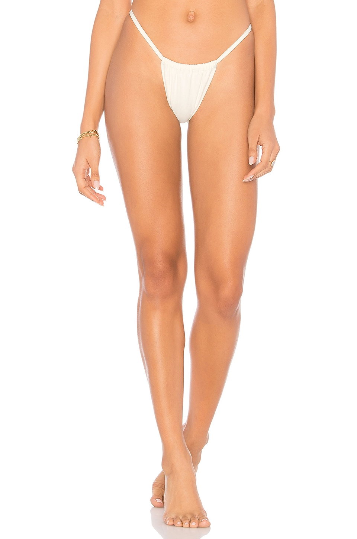 Solid & Striped The Hannah Bikini Bottom in Cream