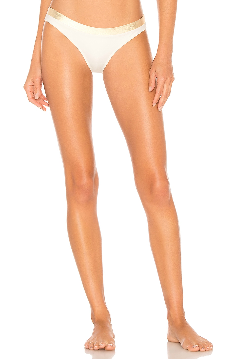 Solid & Striped The Madison Bottom in Cream Gold