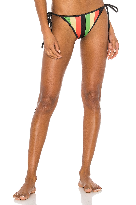 Solid & Striped Amber Bikini Bottom in Jamaica Stripe