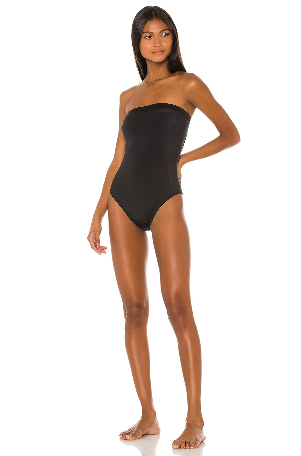 Solid & Striped Madeline One PIece in Black