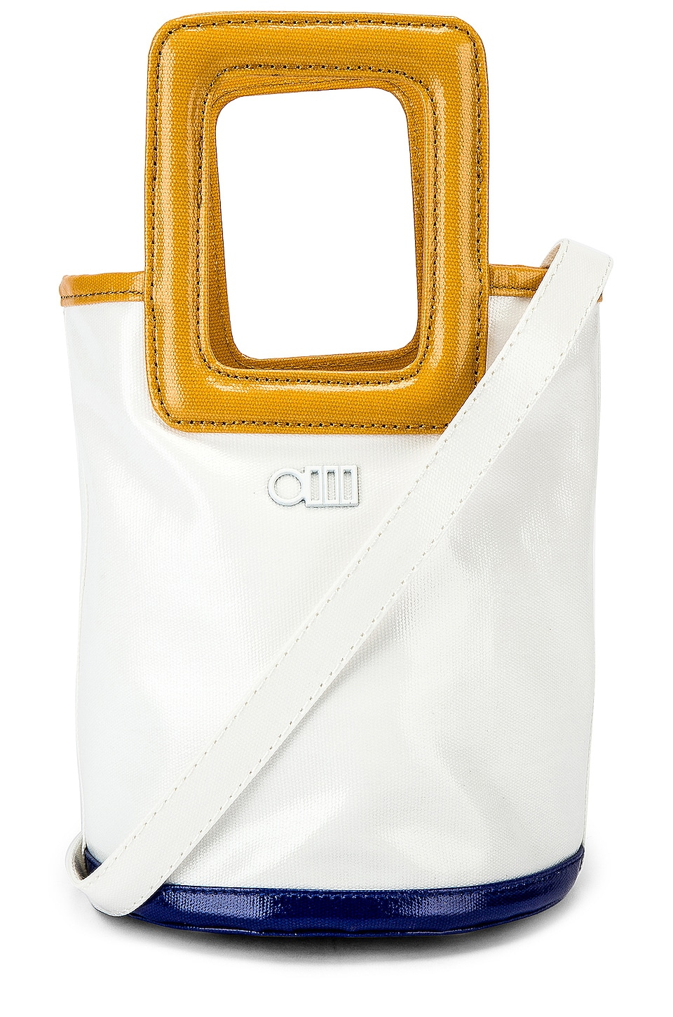 Solid & Striped Pookie Tote in Cream Coated Canvas