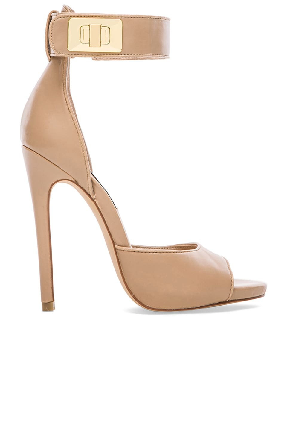 Steve Madden Mayven Heel in Blush Leather