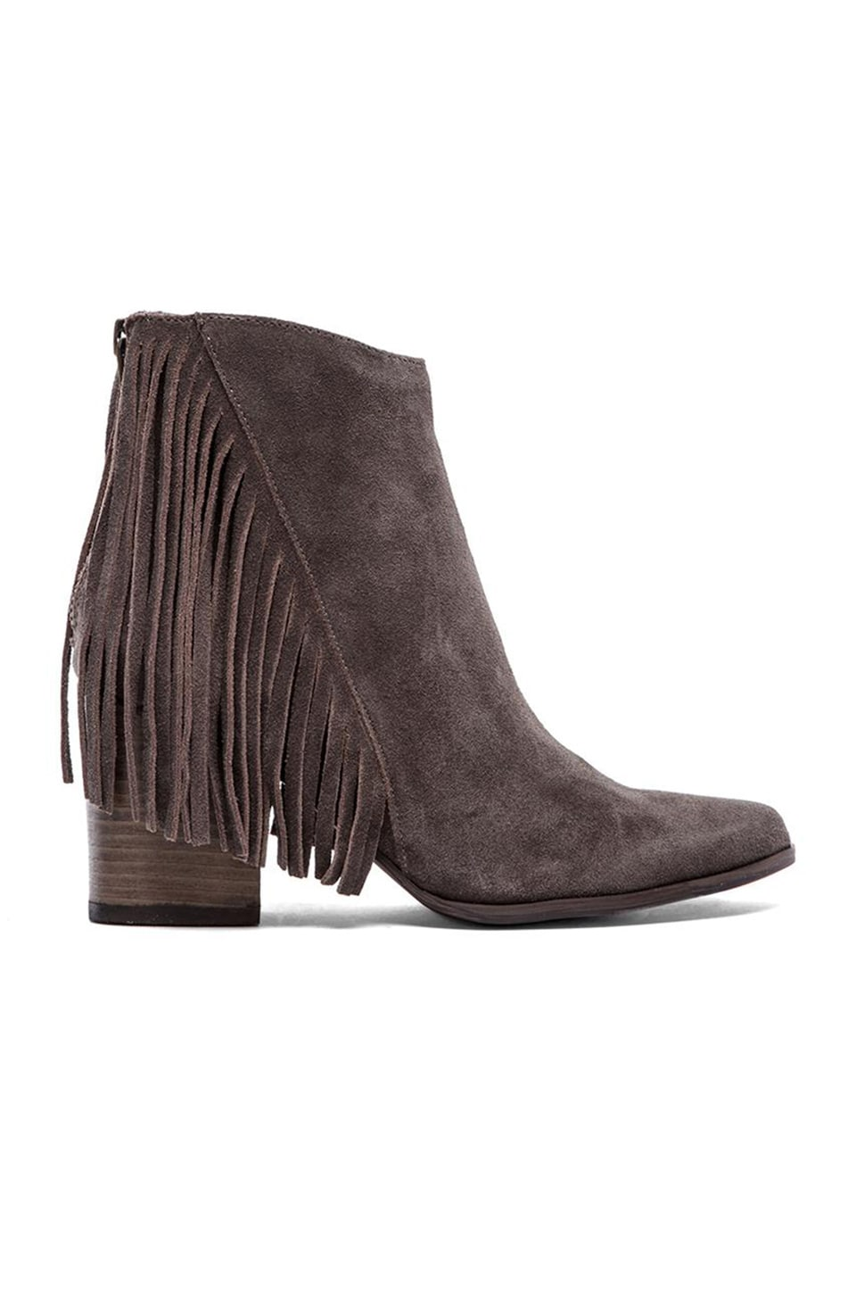 Steve Madden Countryy Bootie in Taupe Suede