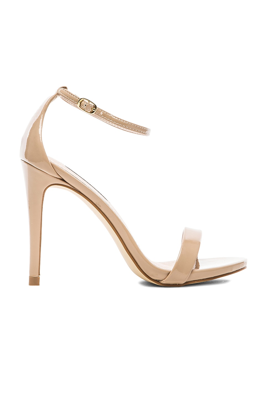 Steve Madden Stecy Heel in Blush Patent