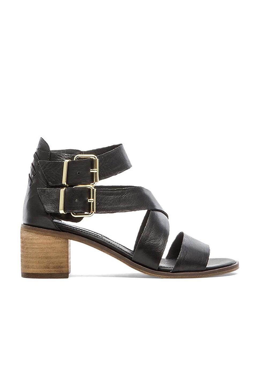 6c57258223e Steve Madden Rosanna Sandal in Black Leather   REVOLVE