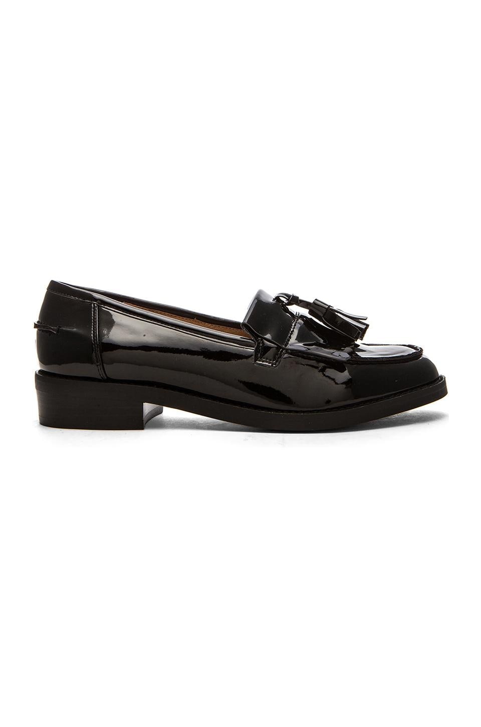 Steve Madden Meelia Loafer in Black