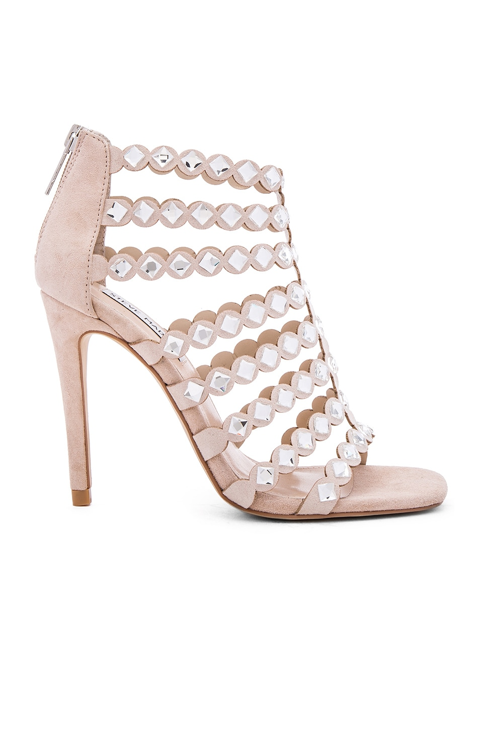 Steve Madden Shinning Heel in Blush Multi
