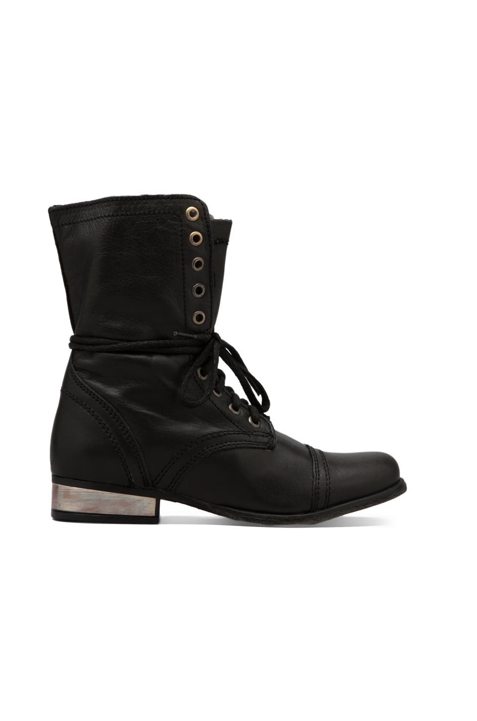 Steve Madden Troopale Boot in Black/Gold