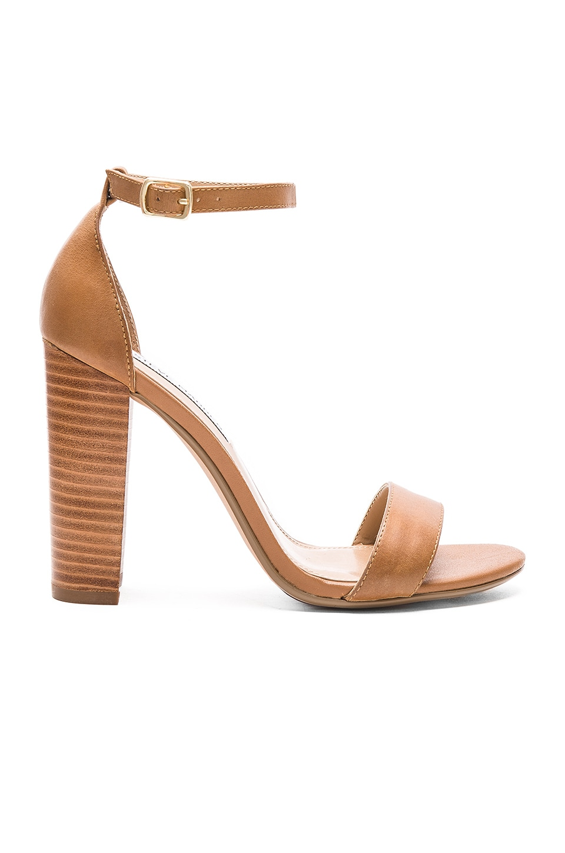 40764d74fca Steve Madden Carrson Heel in Tan Leather | REVOLVE