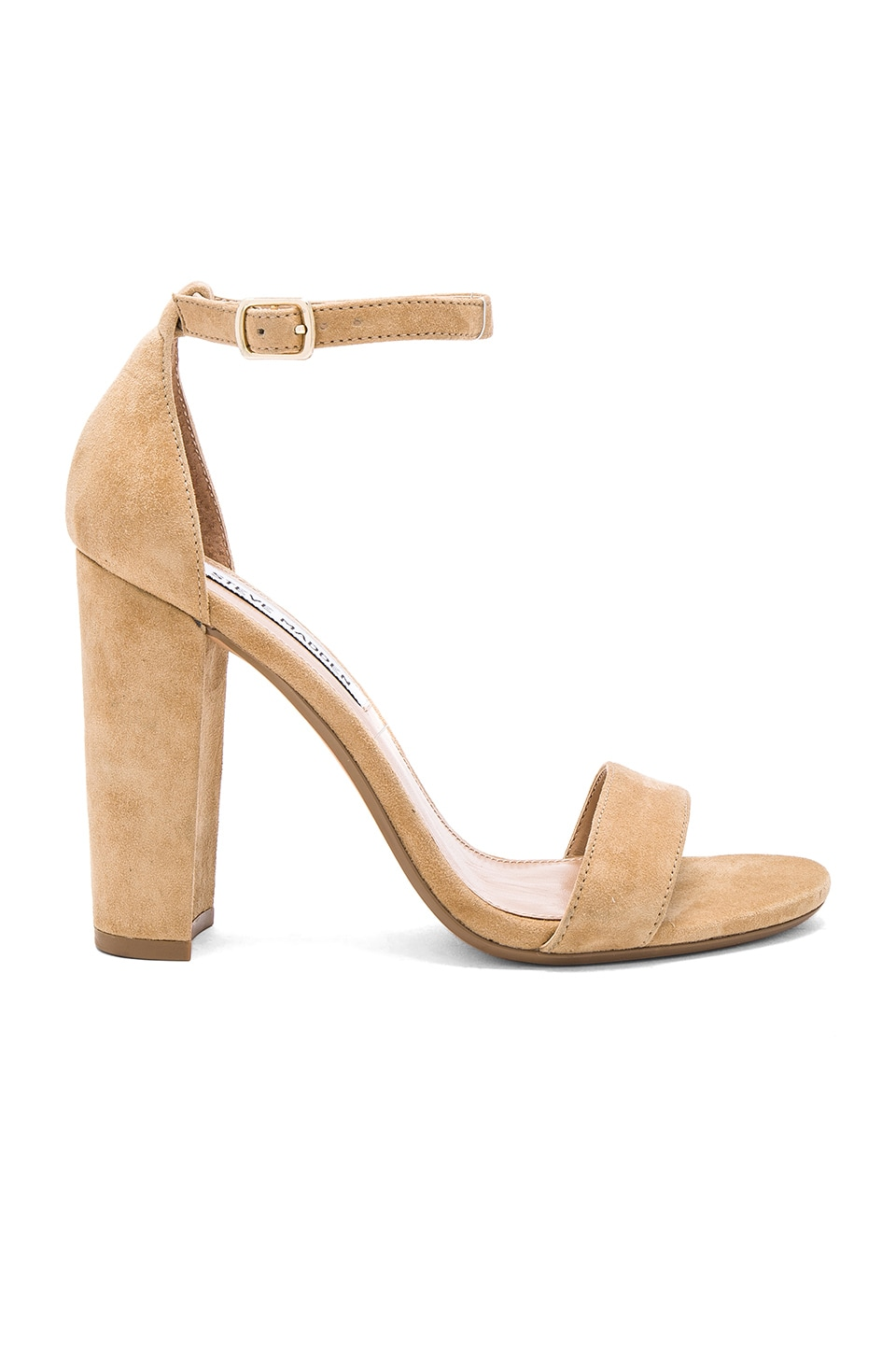 Steve Madden Carrson Heel in Sand Suede