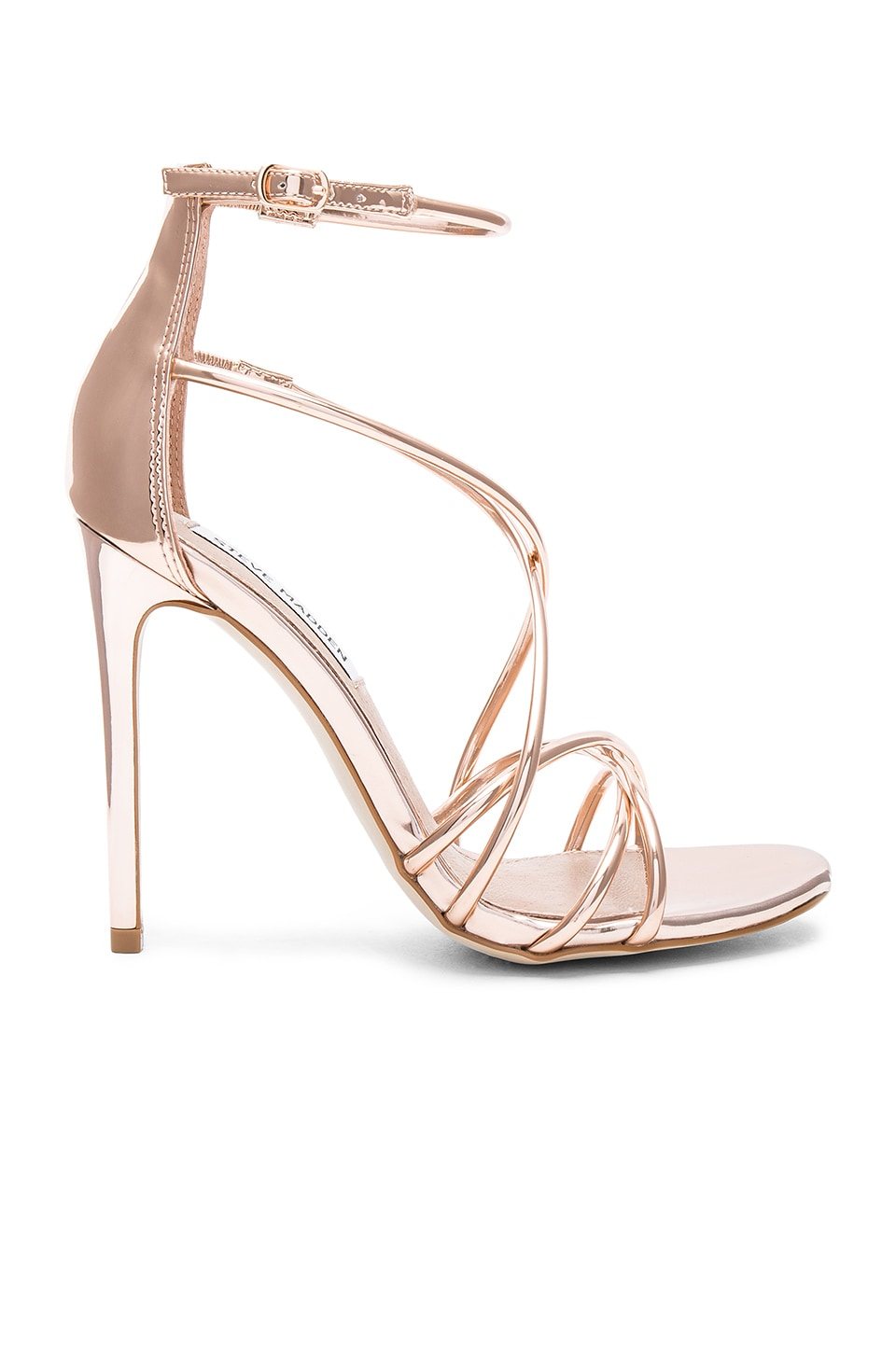 Steve Madden Satire Heel in Rose Gold