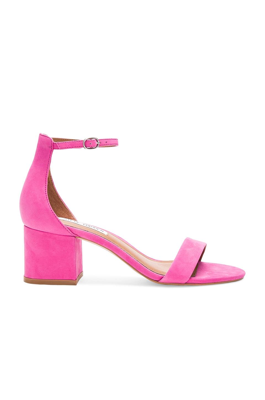 Steve Madden Irenee Heel in Pink Nubuck