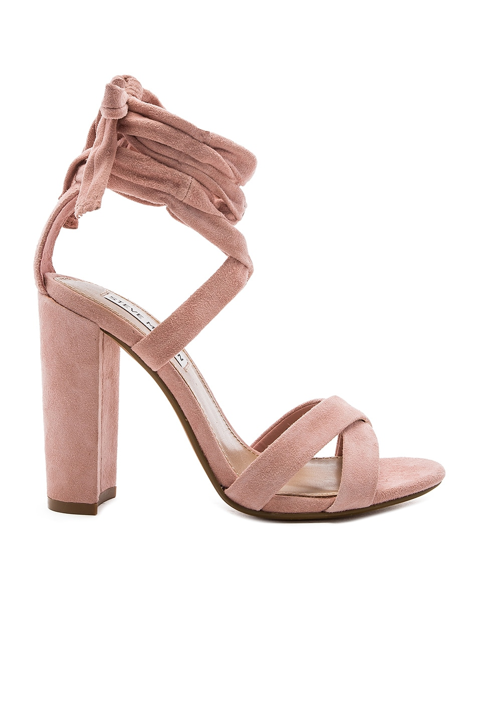Steve Madden Christey Heel in Light Pink