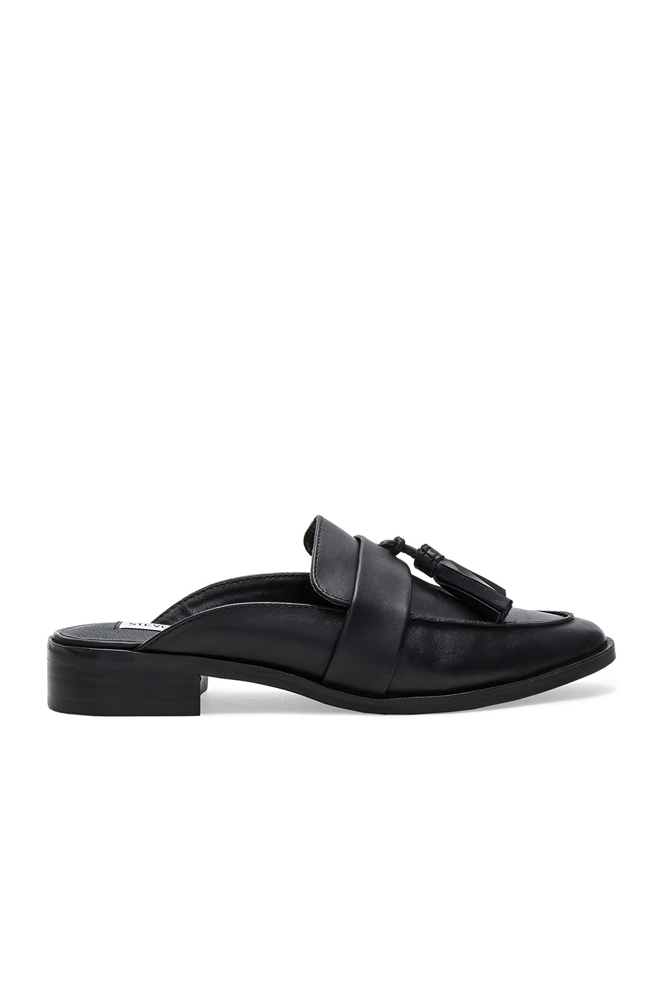 Steve Madden Magan Mule in Black Leather