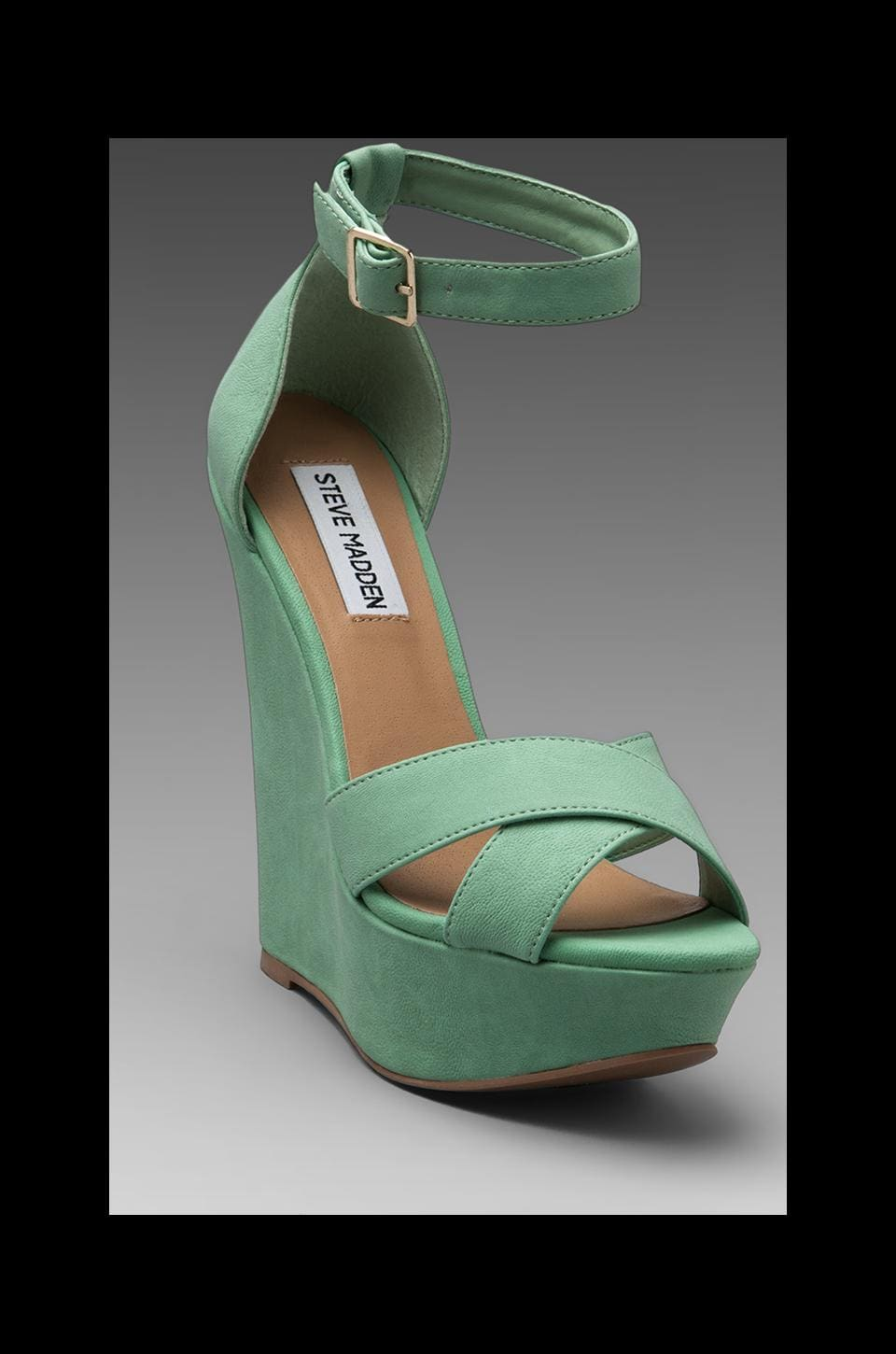 Steve Madden Xenon Wedge in Mint Green
