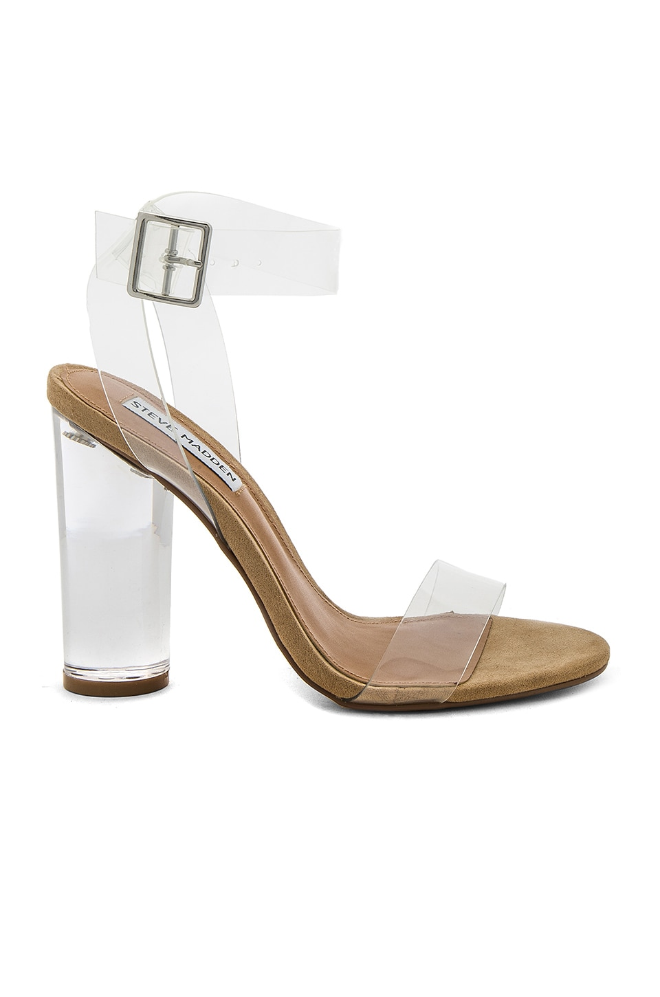 Steve Madden Clearer Heels in Clear