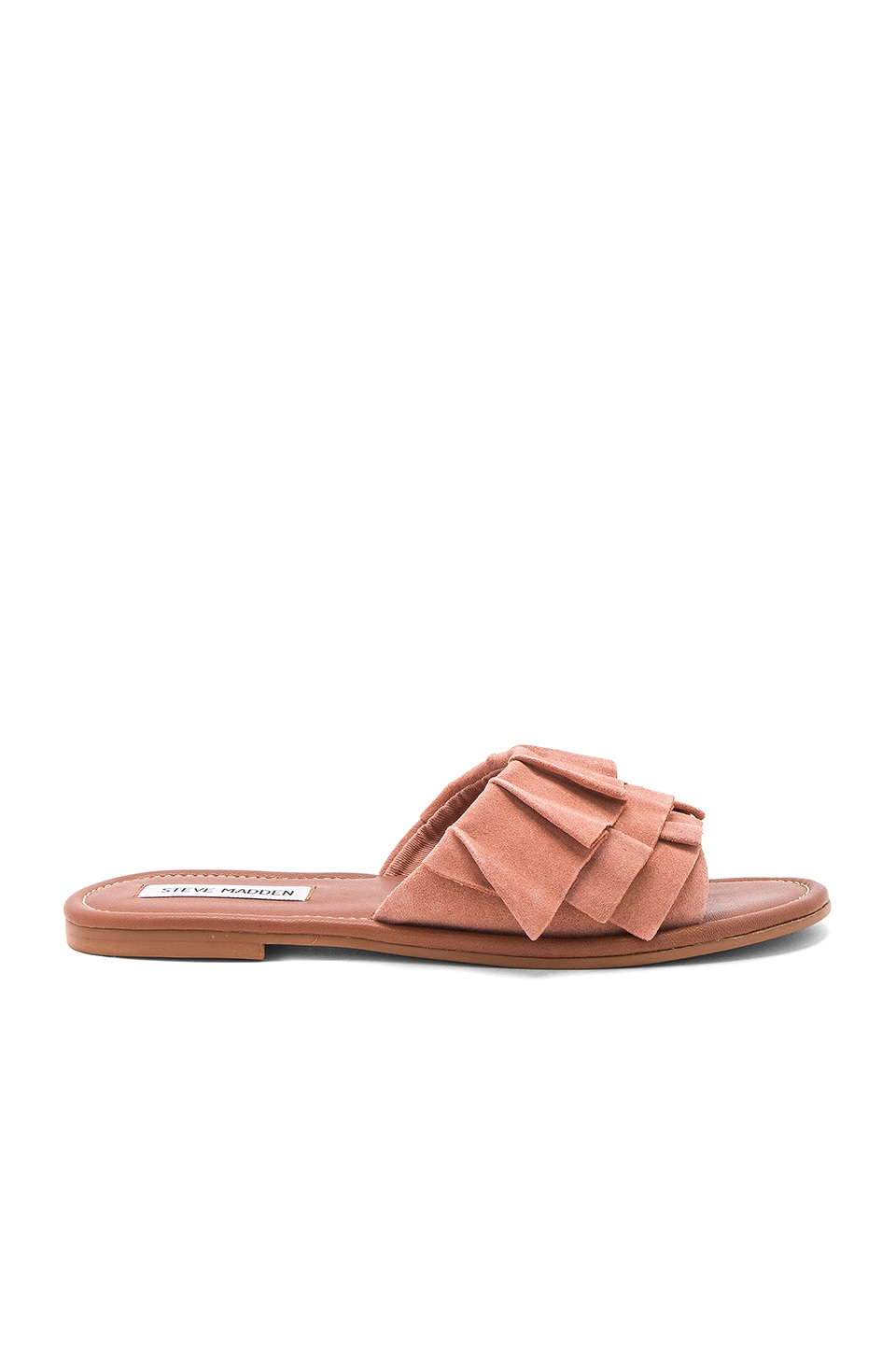 Steve Madden Get Down Slide in Rose