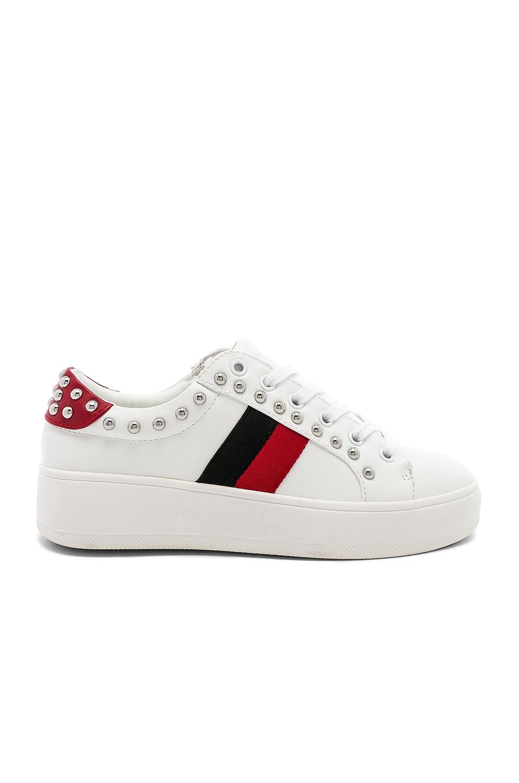 Steve Madden Belle Sneaker in White Multi