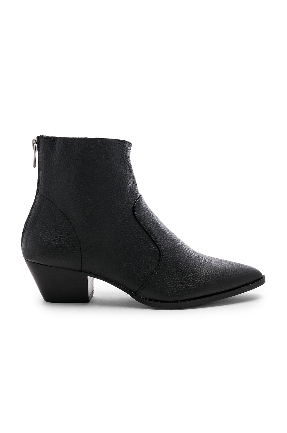 Steve Madden Cafe Bootie in Black