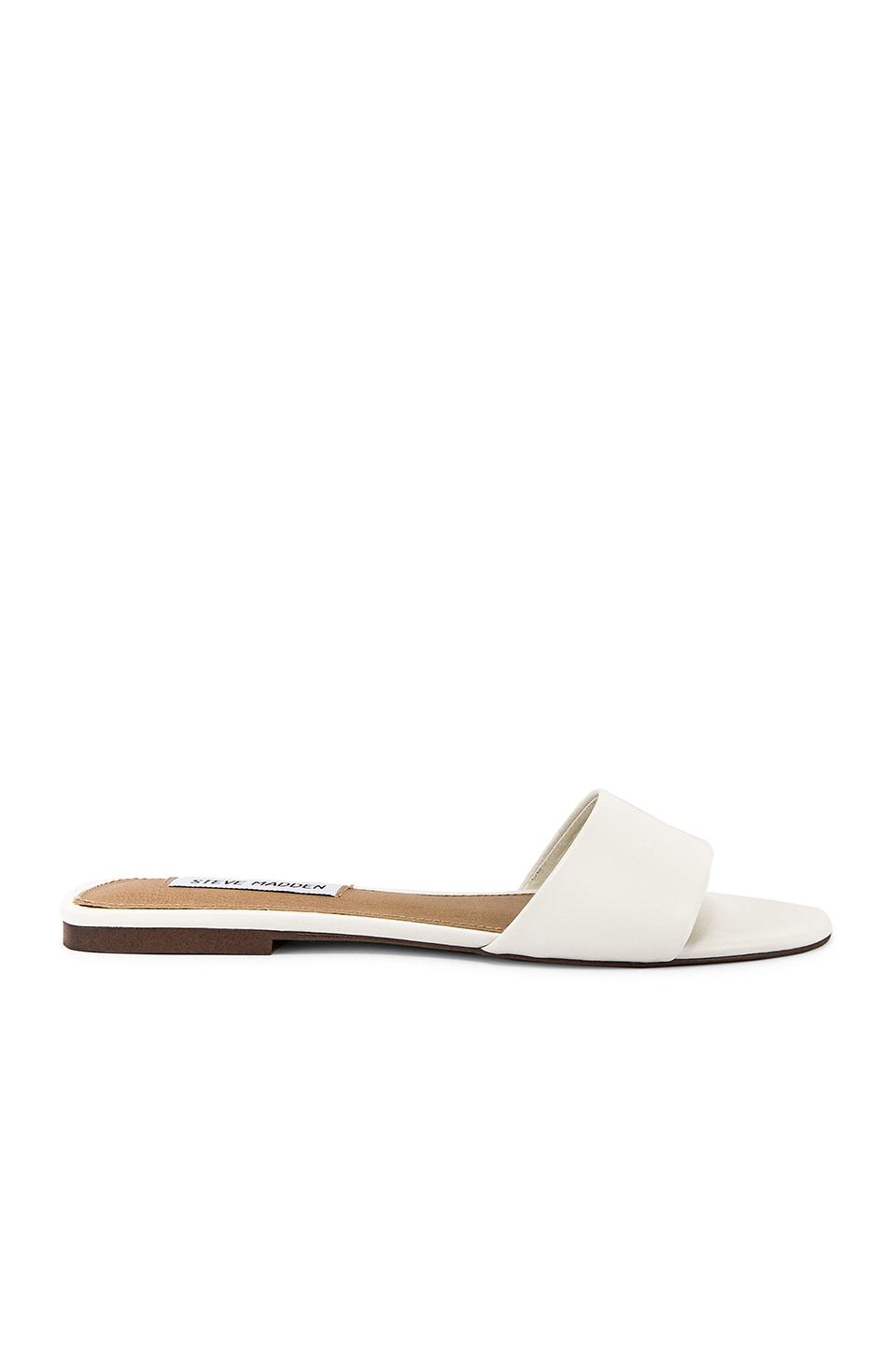 Steve Madden Bev Slide in White