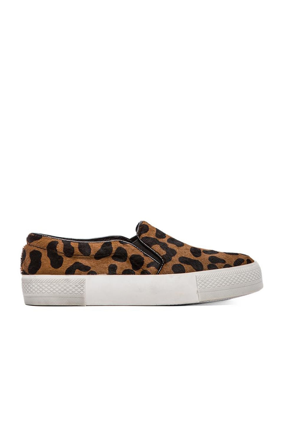 Steve Madden NYC Flat with pony hair in Leopard Pony