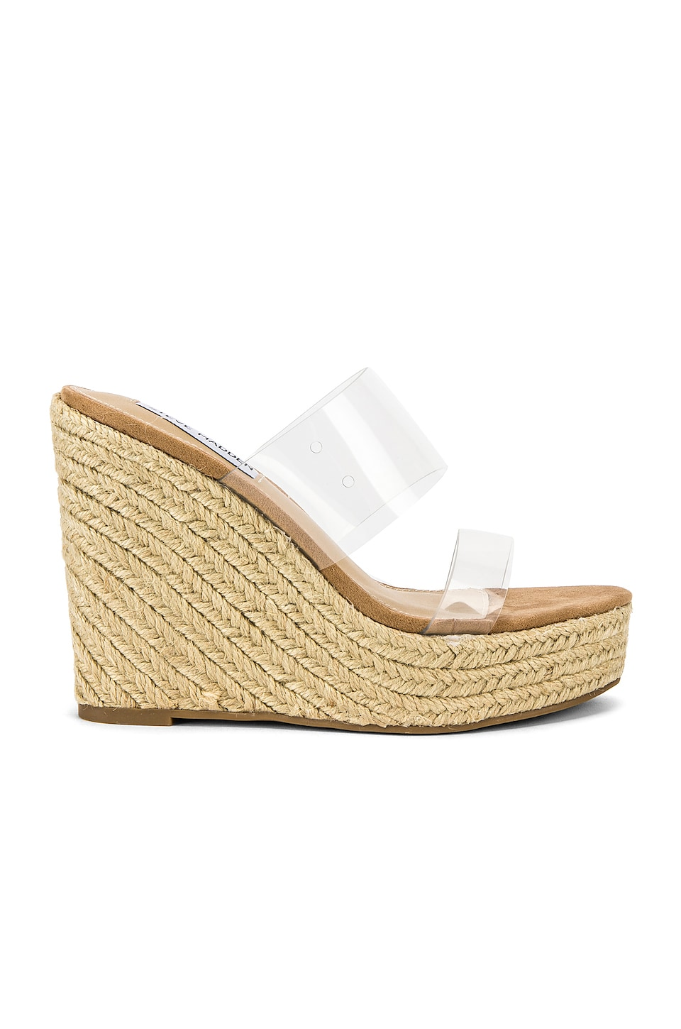 Steve Madden Sunrise Wedge in Clear
