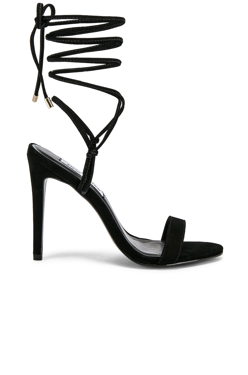Steve Madden Level Sandal in Black