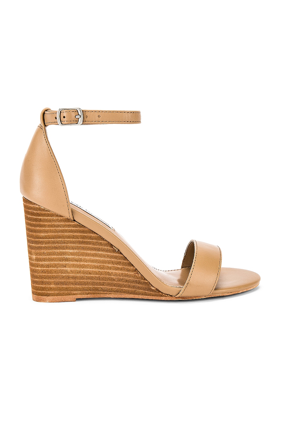 Steve Madden Mary Wedge in Natural