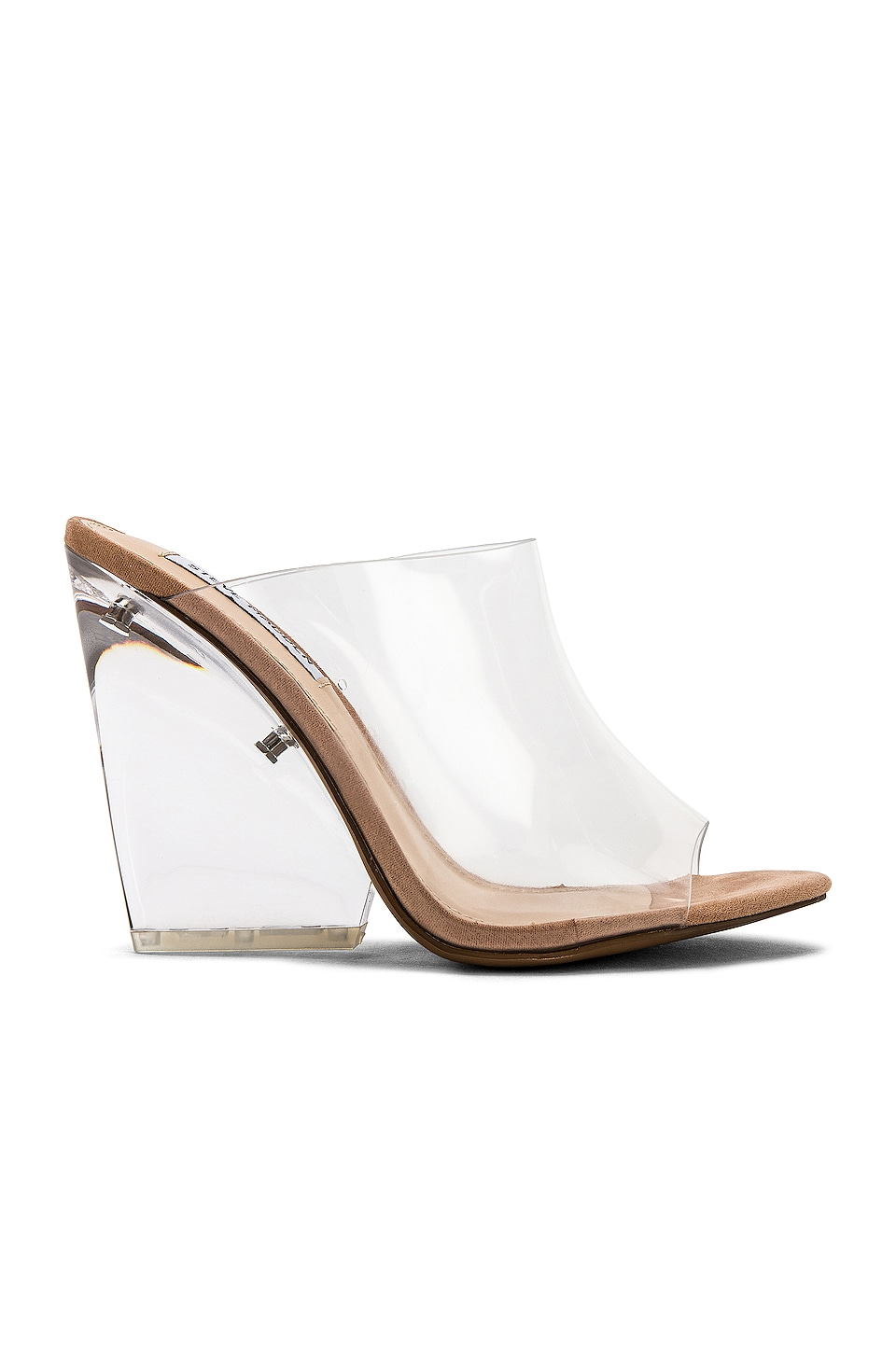 Steve Madden Evolve Wedge in Clear