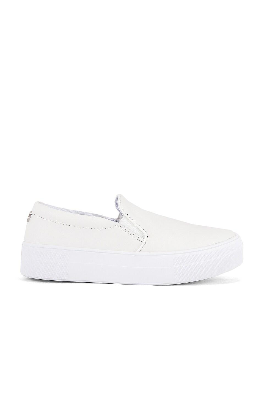 Steve Madden Gills Sneaker in White Leather
