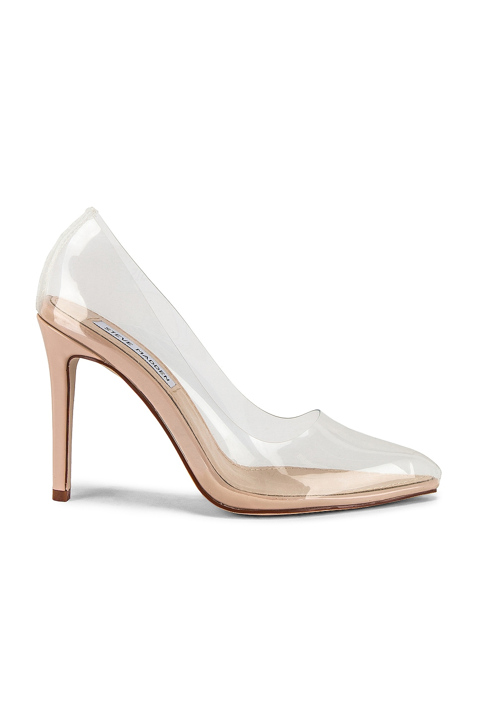 Steve Madden Vegas Pump in Clear