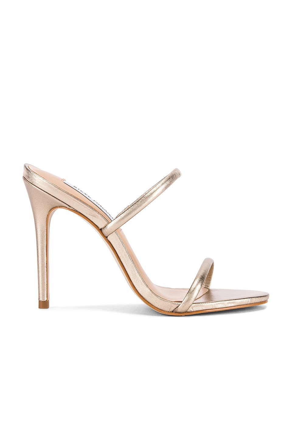 Steve Madden Mina Mule in Light Gold