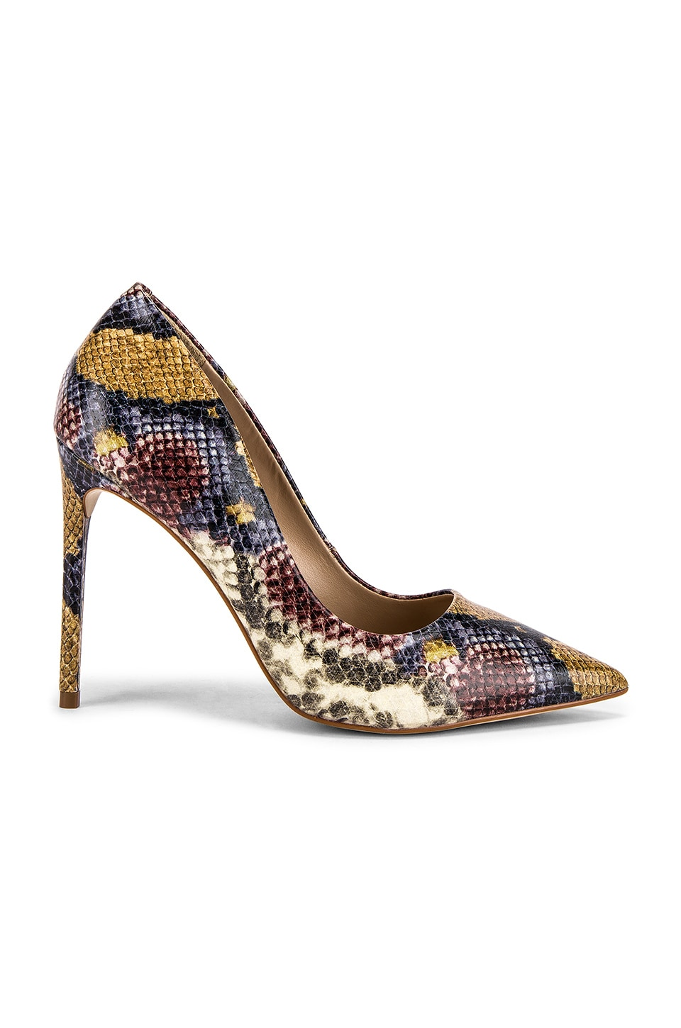 Steve Madden Vala Pump in Multi Snake