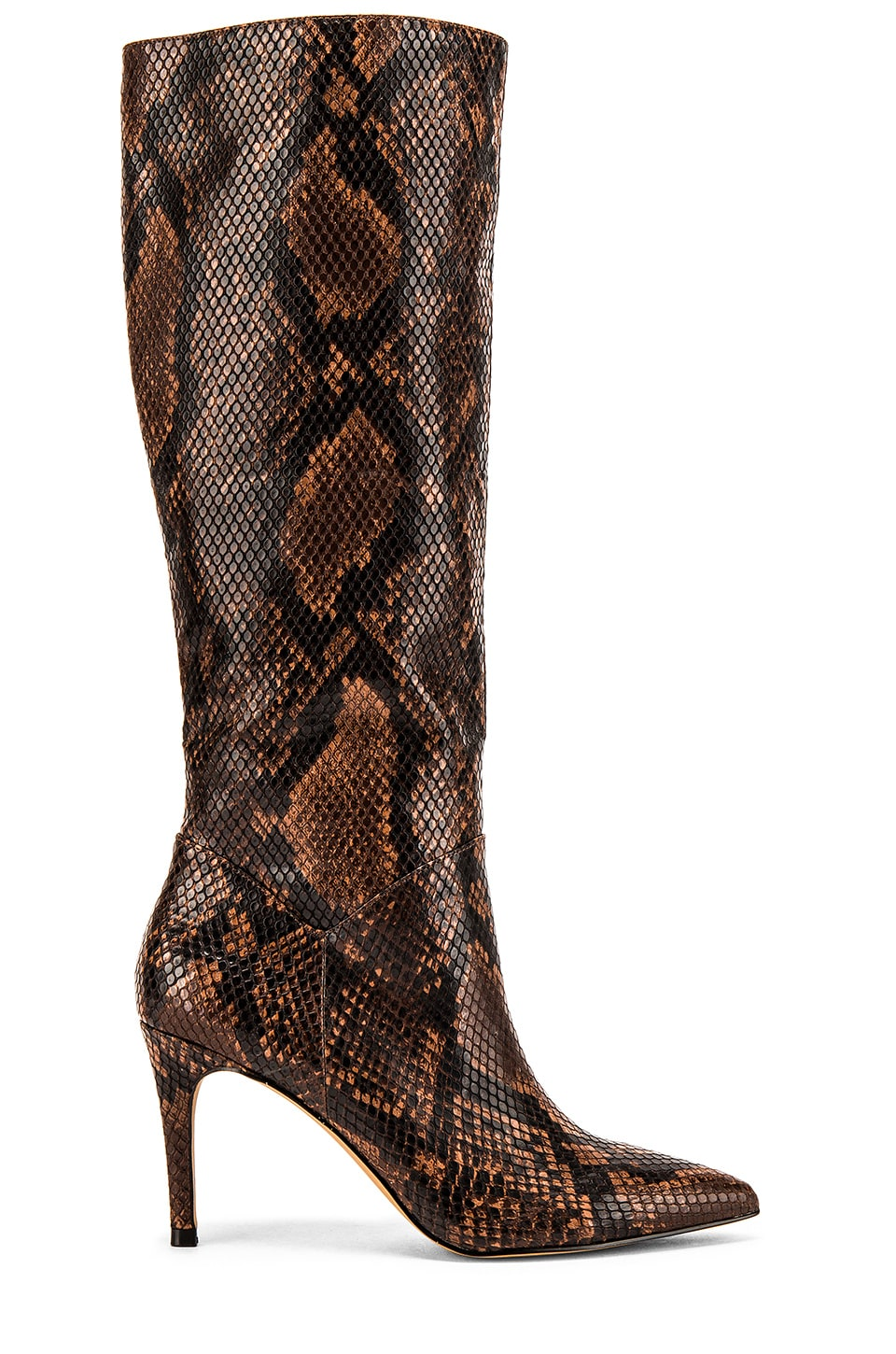 Steve Madden Kinga Boot in Brown Snake