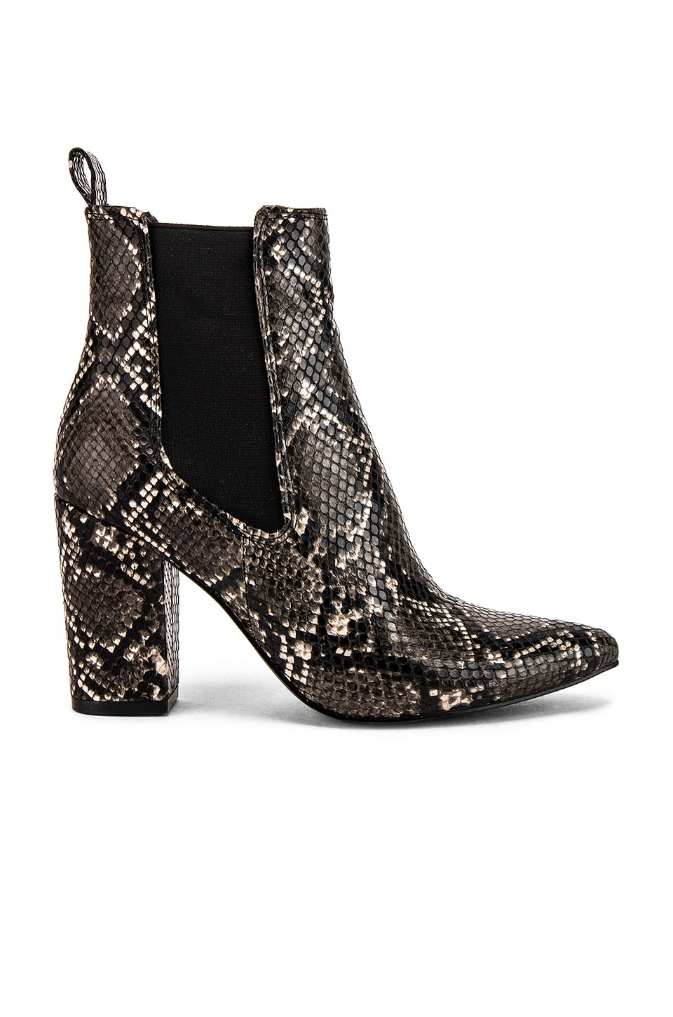Steve Madden Subtle Ankle Bootie in Grey Snake