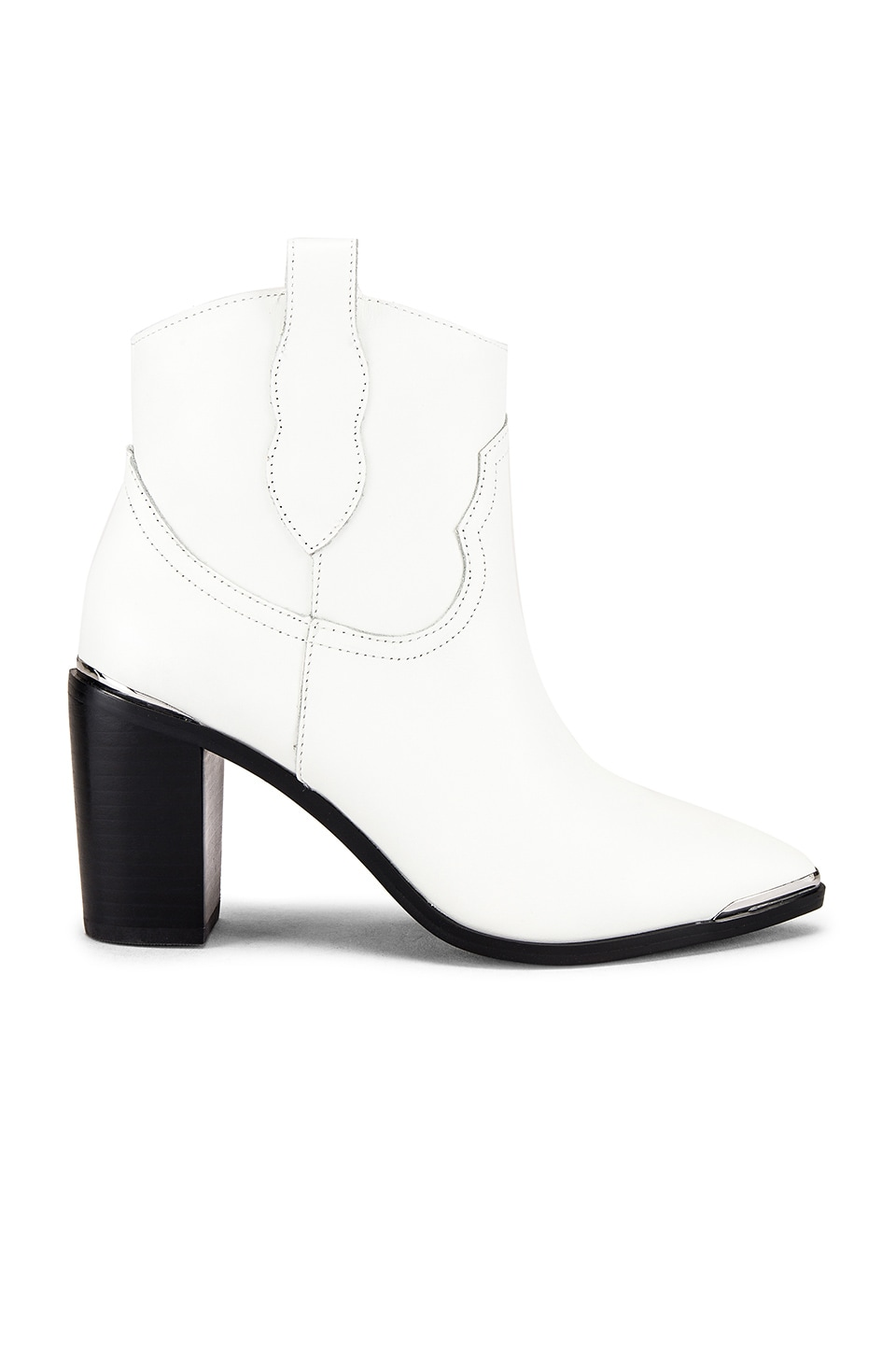 Steve Madden Zora Ankle Boot in White