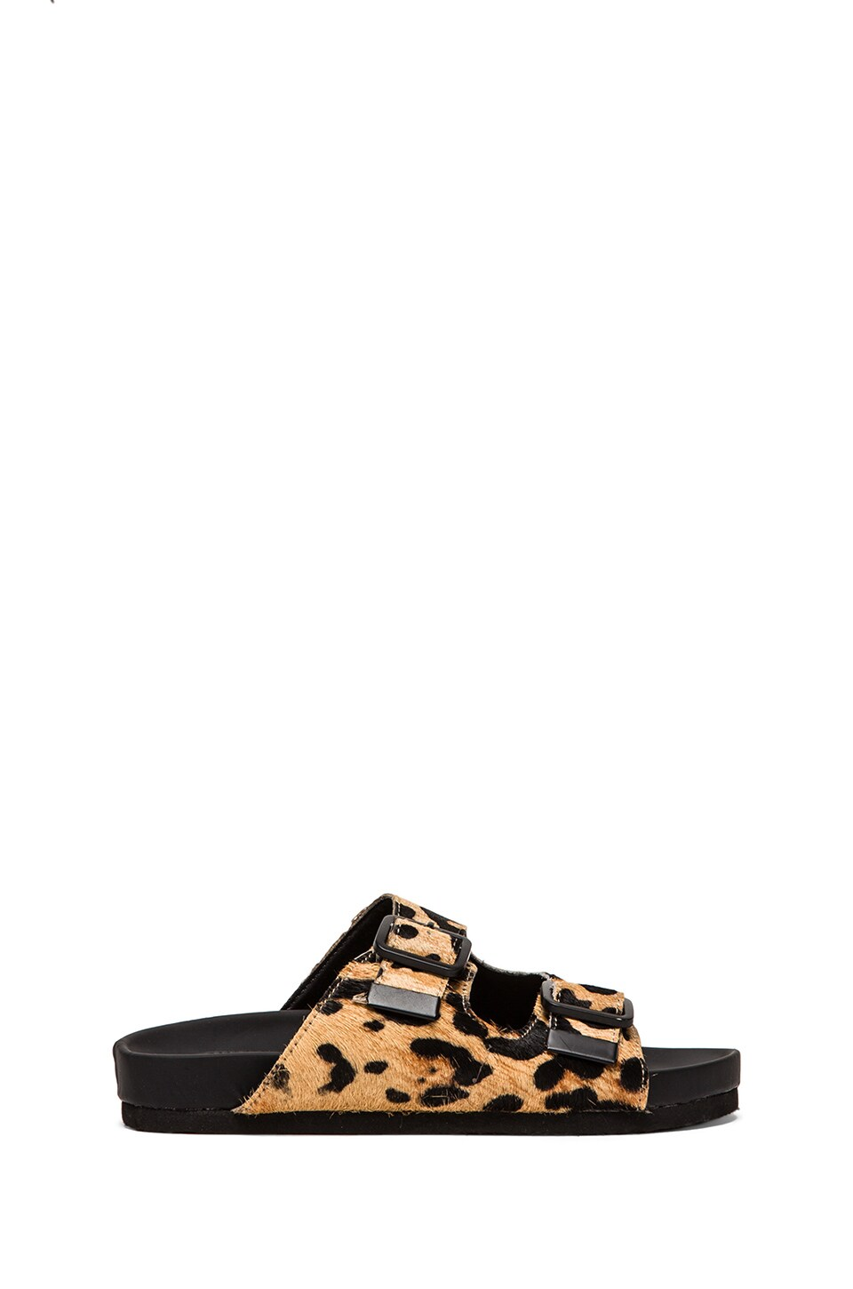 Steve Madden Boundree Sandal in Leopard Pony