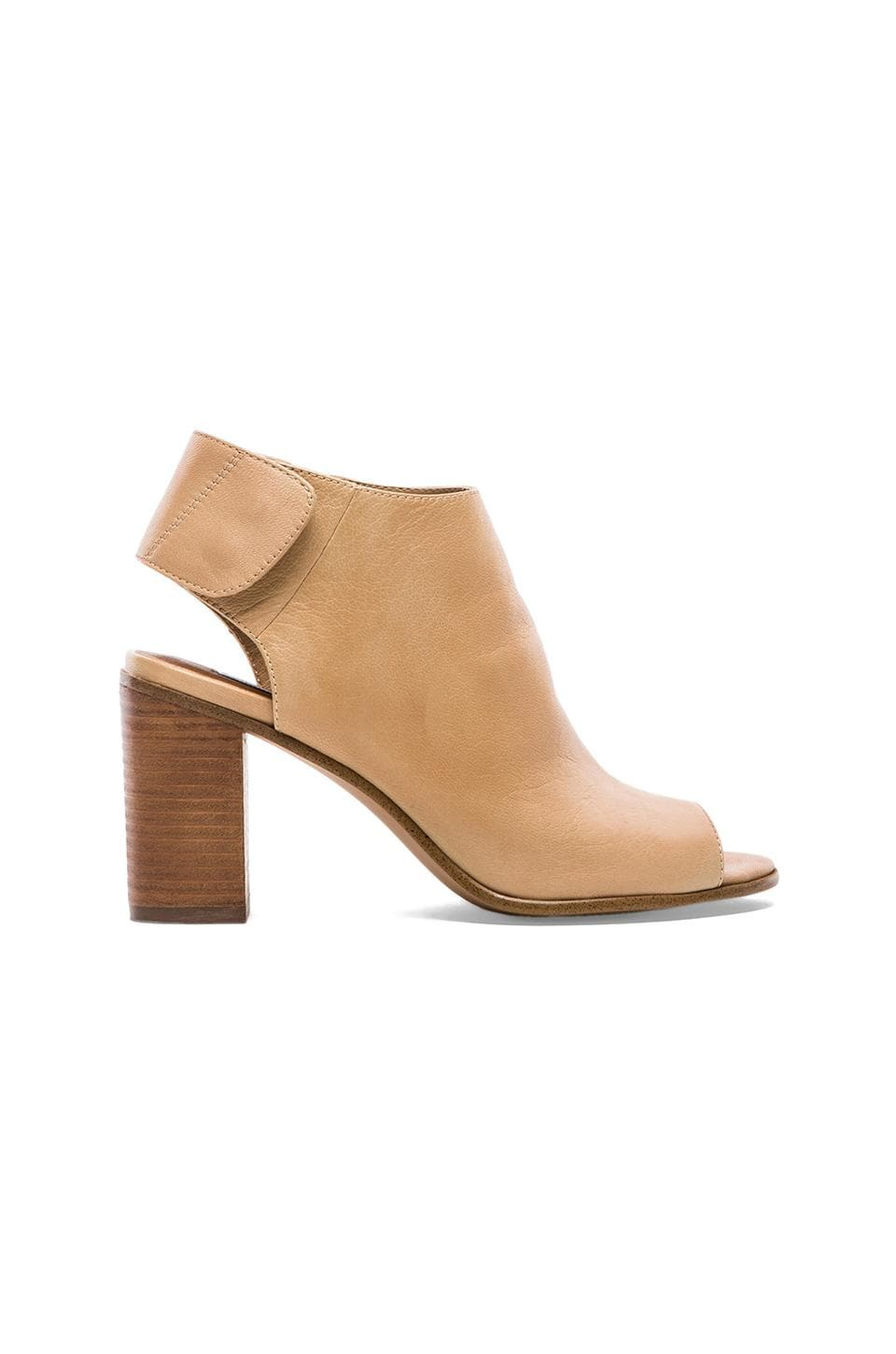 Steve Madden Nonstop Bootie in Natural Leather