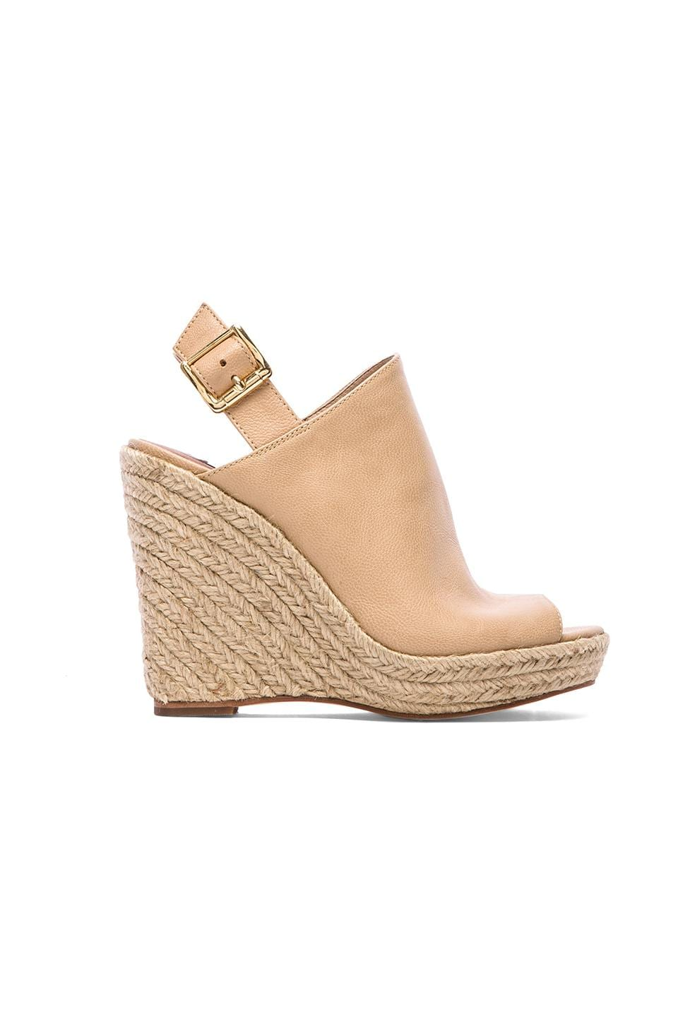 Steve Madden Corizon Wedge in Natural Leather