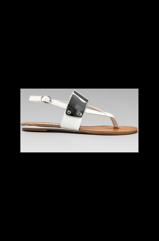 Steve Madden Cuff Sandal in White